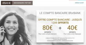 Prime BforBank 120 euros